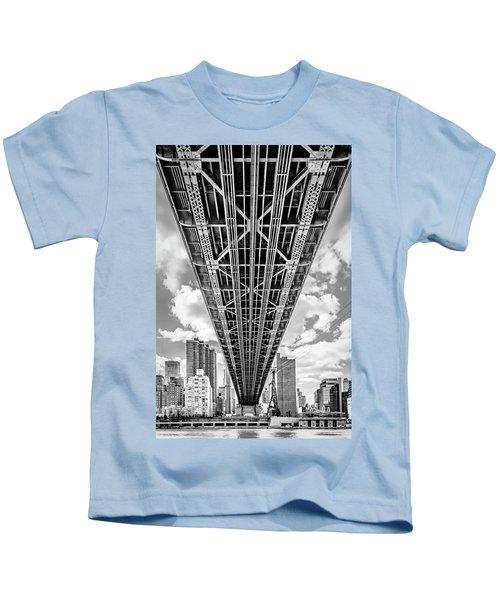 Underneath The Queensboro Bridge Kids T-Shirt