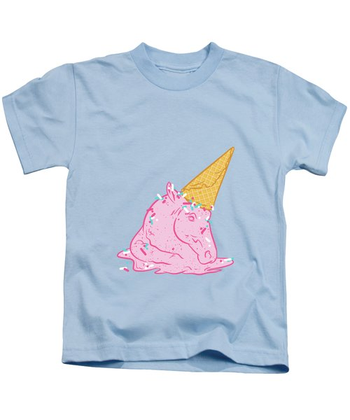 Unicorn Melts Kids T-Shirt