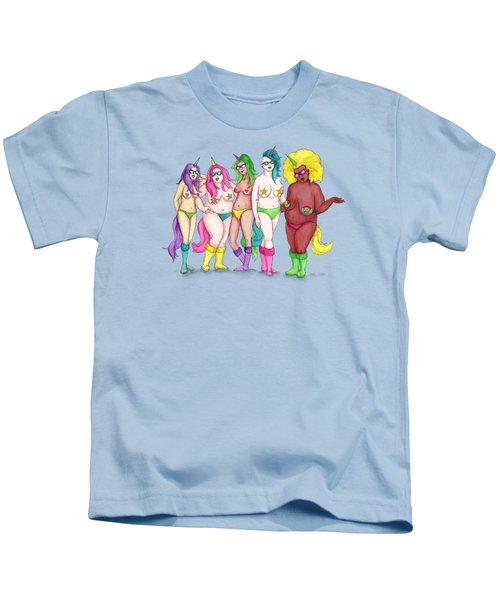Unicorn Varieties Kids T-Shirt