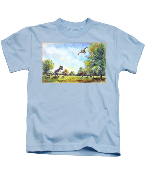 Uninvited Picnic Guests Kids T-Shirt