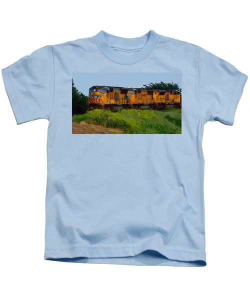 Union Pacific Line Kids T-Shirt