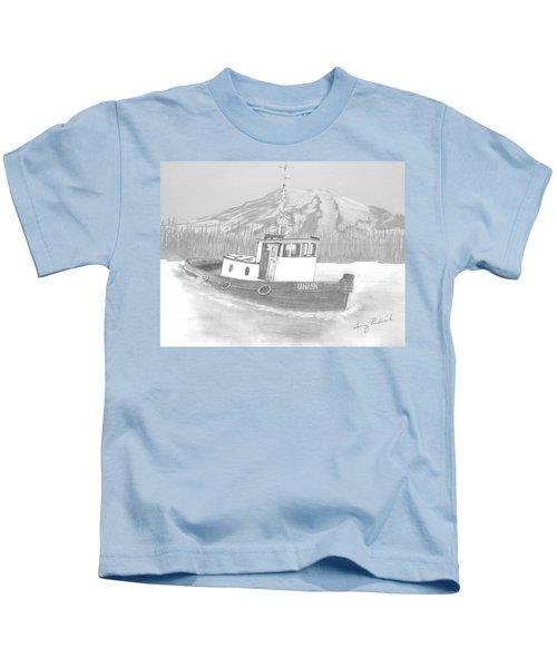 Tugboat Union Kids T-Shirt