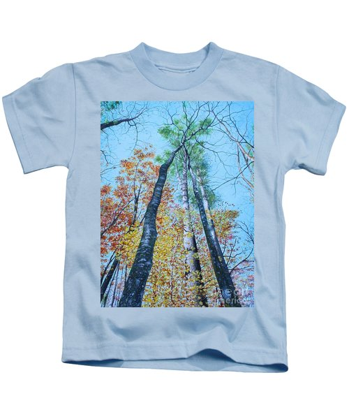 Up Into The Trees Kids T-Shirt