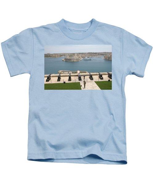 Upper Barrakka Saluting Battery Kids T-Shirt