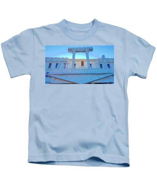 Upside Down White House Kids T-Shirt
