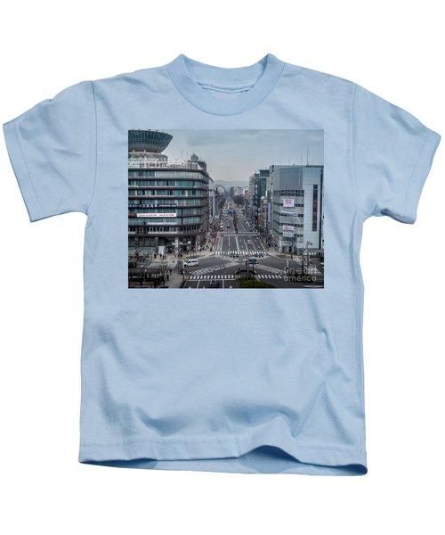 Urban Avenue, Kyoto Japan Kids T-Shirt