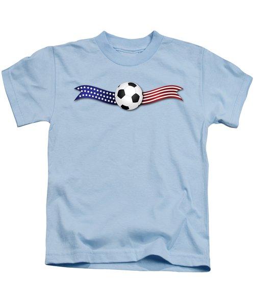 Usa Soccer Kids T-Shirt