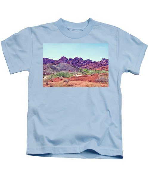 Valley Of Fire State Park, Nevada Kids T-Shirt