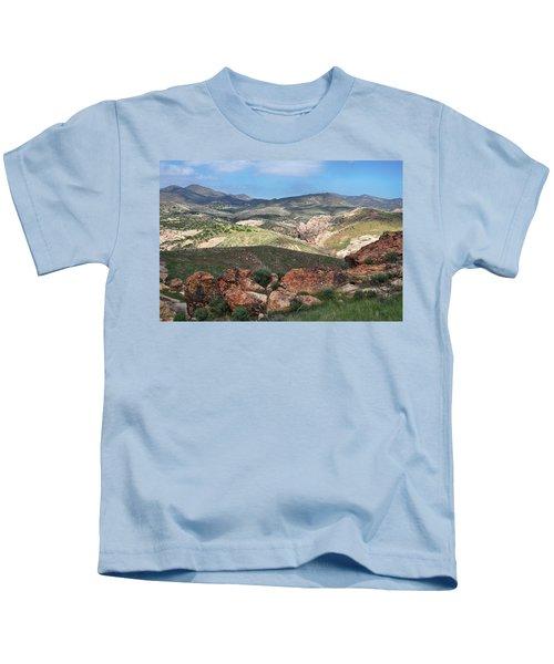 Vasquez Rocks Park Kids T-Shirt