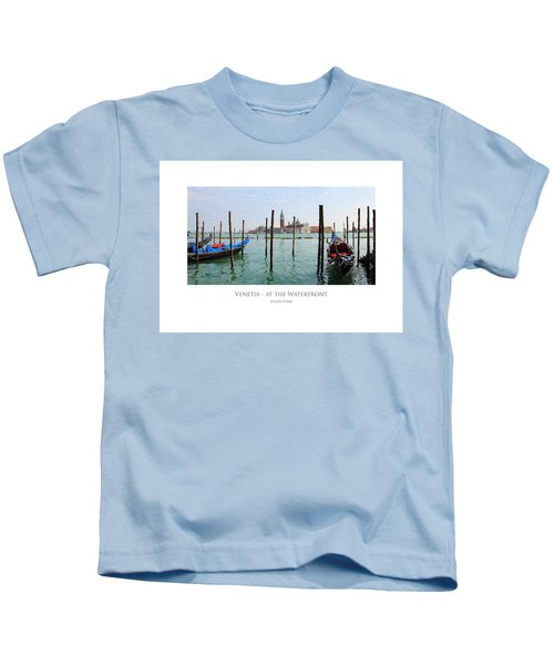 Venetia - At The Waterfront Kids T-Shirt