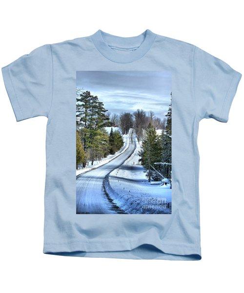 Vermont Country Landscape Kids T-Shirt