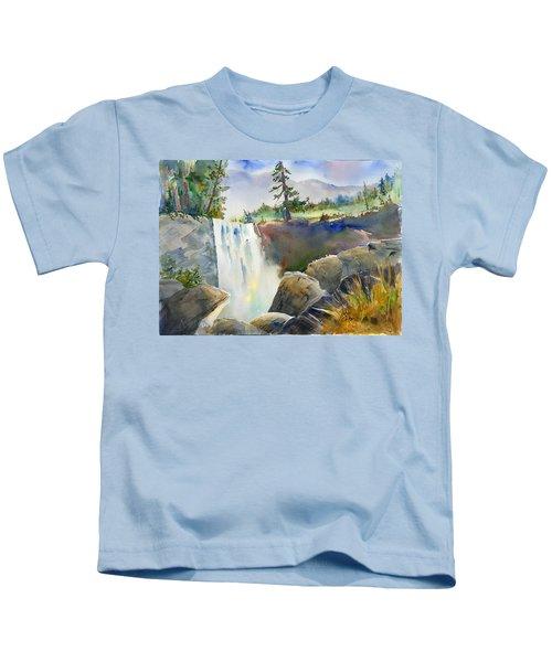 Vernal Falls Kids T-Shirt