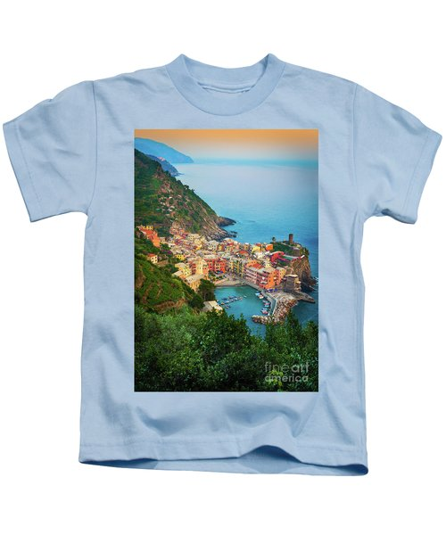 Vernazza From Above Kids T-Shirt