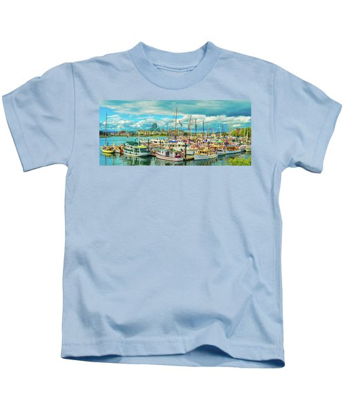 Victoria Harbor 2 Kids T-Shirt