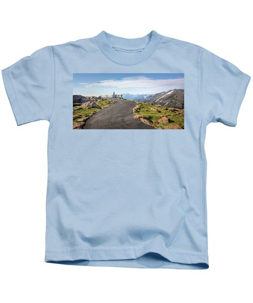 View At The Top Kids T-Shirt