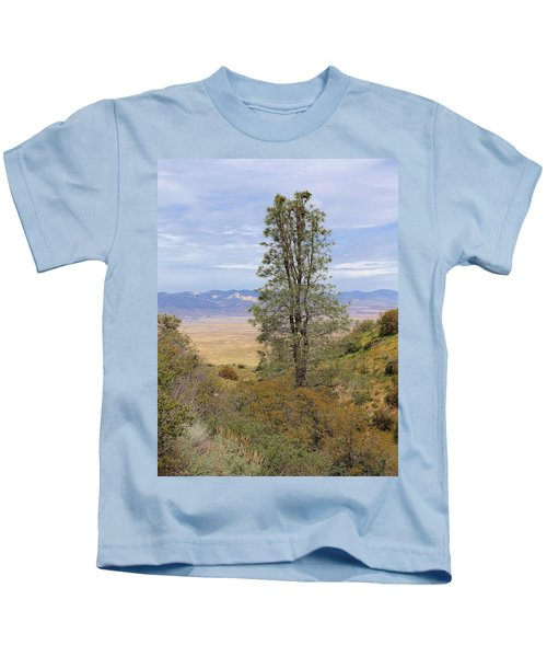 View From Pine Canyon Rd Kids T-Shirt