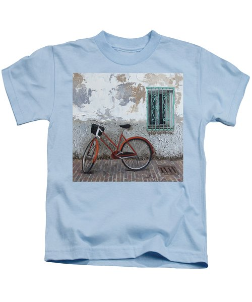 Vintage Series #3 Bike Kids T-Shirt