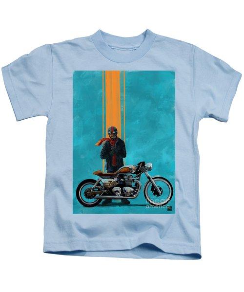 Vintage Cafe Racer  Kids T-Shirt