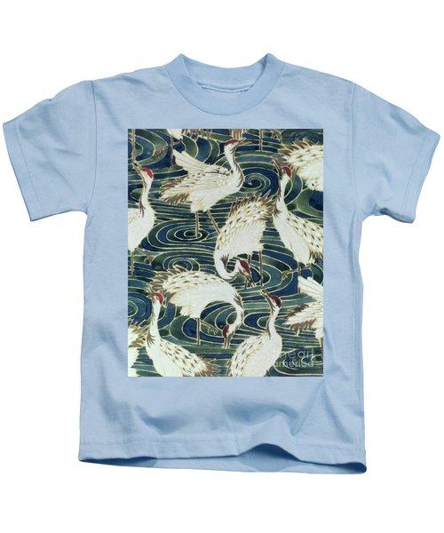 Vintage Wallpaper Design Kids T-Shirt by English School