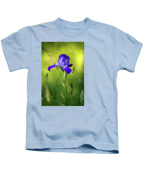 Violet Iris Kids T-Shirt