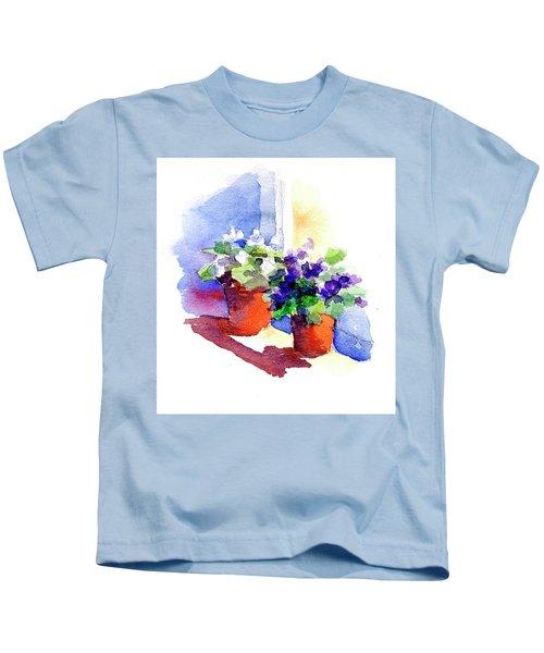 Violets Are Blue Kids T-Shirt