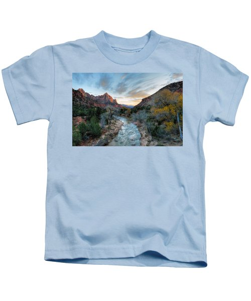 Virgin River And The Watchman Kids T-Shirt