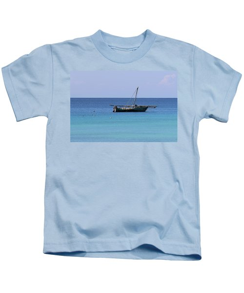 Waiting For Adventure Kids T-Shirt
