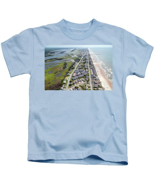 Waiting For You Topsail Island Kids T-Shirt