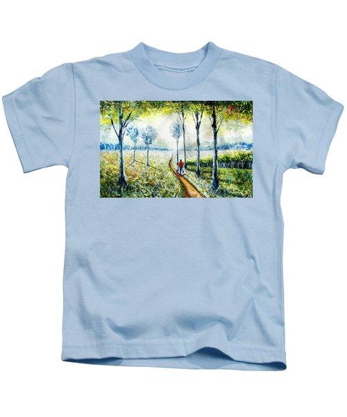 Walk Into The World Kids T-Shirt