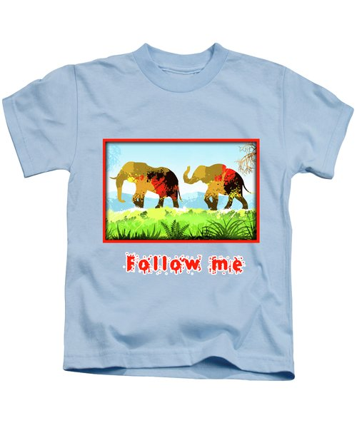 Walk With Me Kids T-Shirt