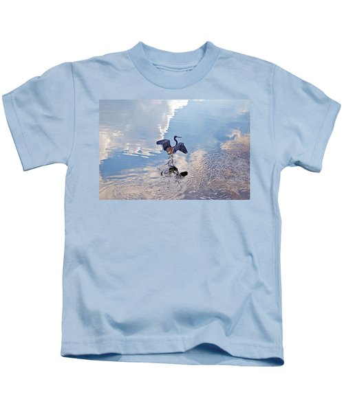 Walking On Water Kids T-Shirt