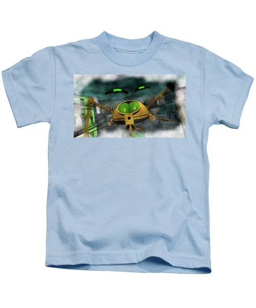 War Of The Worlds Part 2 Kids T-Shirt