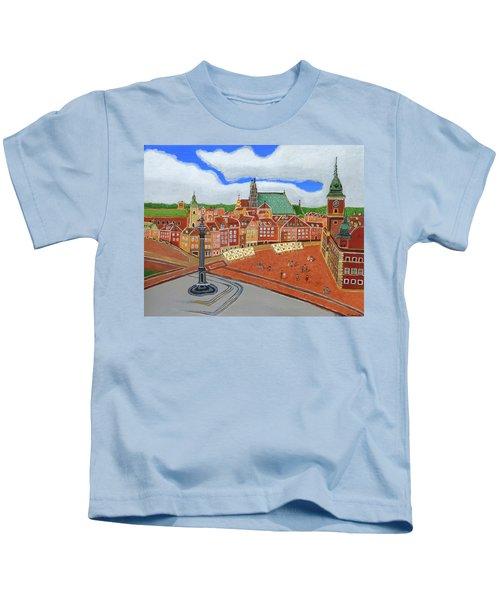 Warsaw- Old Town Kids T-Shirt