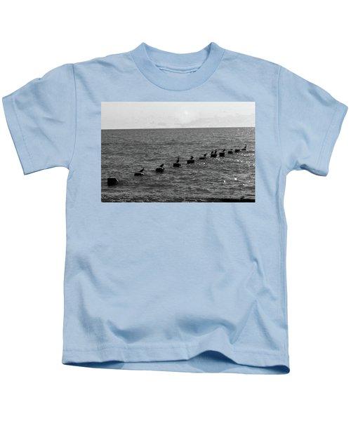 Water Birds Kids T-Shirt