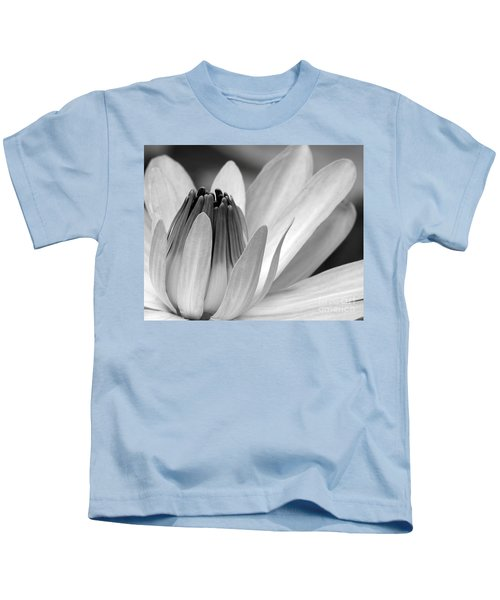 Water Lily Opening Kids T-Shirt