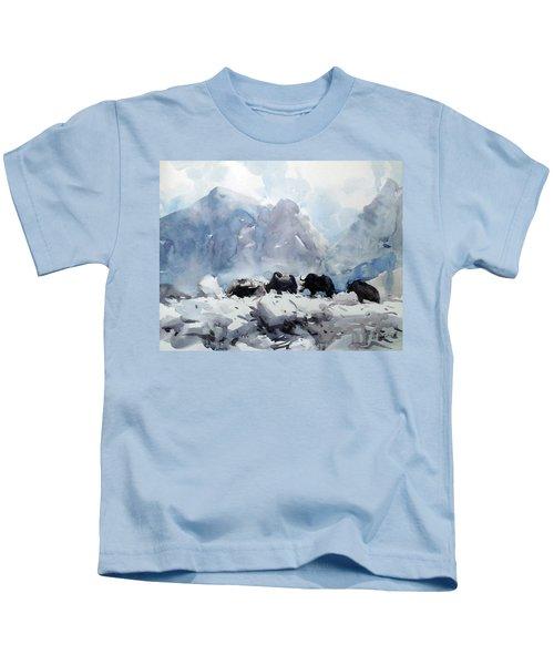 way to Everest Kids T-Shirt