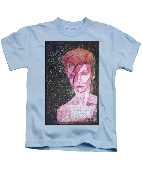 We Can Be Heroes A Tribute To David Bowie Kids T-Shirt