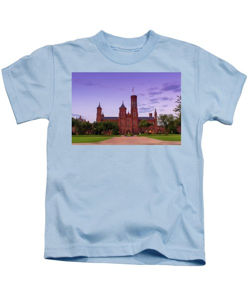 We Do Have Castles In America Kids T-Shirt