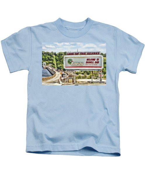 Welcome To Bagnell Dam Kids T-Shirt