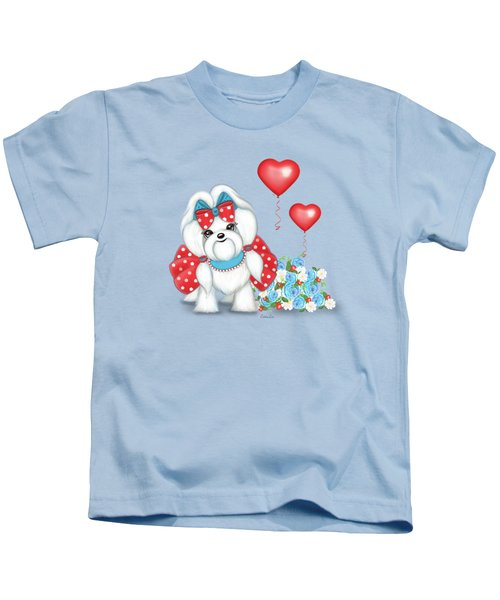 Welcome With Love  Kids T-Shirt