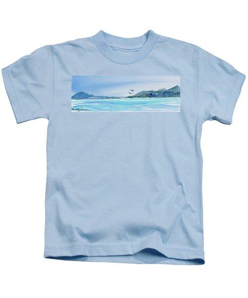 West Coast  Isle Of Pines, New Caledonia Kids T-Shirt