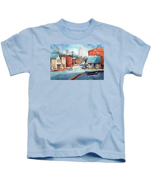 When The Fog Lifts Kids T-Shirt