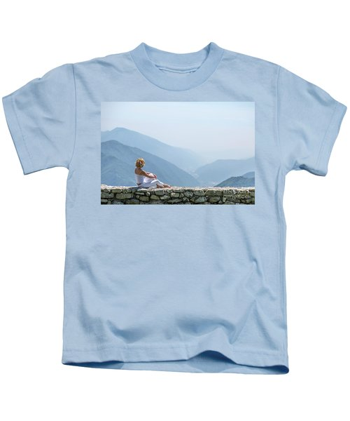 Where You Touch The Sky Kids T-Shirt