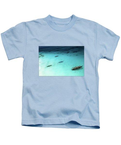 White Beach Boracay Kids T-Shirt