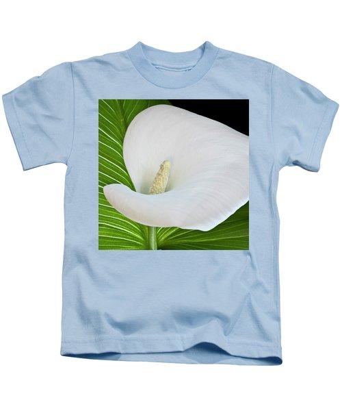 White Calla Kids T-Shirt