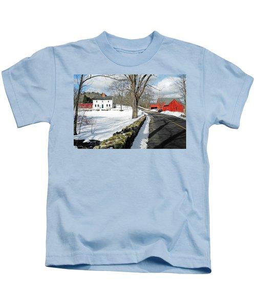 Whittier Birthplace Kids T-Shirt