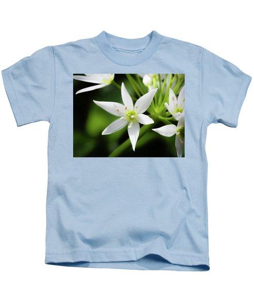 Wild Garlic Flower Kids T-Shirt