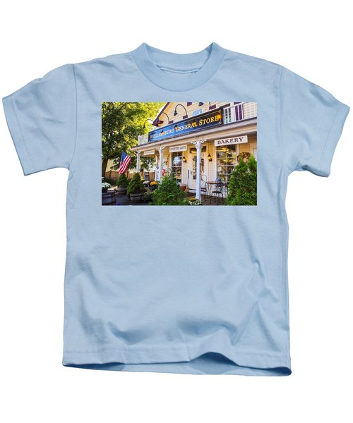 Williamsburg General Store Mass Kids T-Shirt