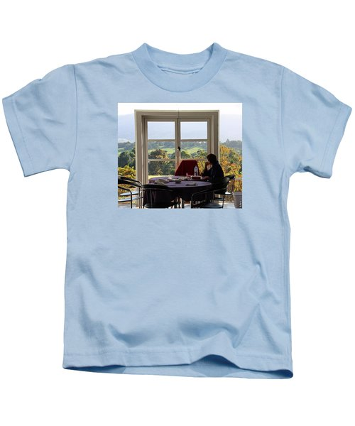 Window To The World Kids T-Shirt