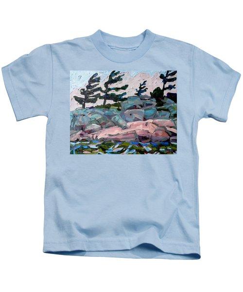 Windy Island Kids T-Shirt